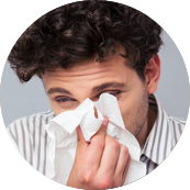 Short Ragweed Allergy Symptom Runny Nose